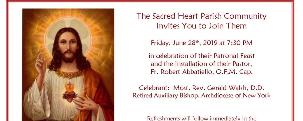 Installation: Fr  Robert Abbatiello, O F M  Cap  - Capuchins